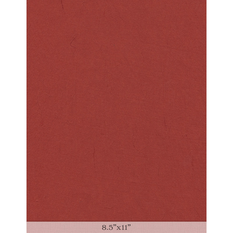 "Moriki Kozo Red - Sample 8.5"" x 11"""
