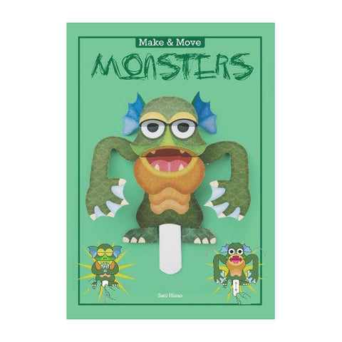 Make & Move: Monsters Book