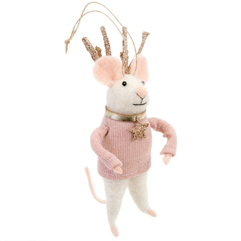 Miss Blitzen Ornament
