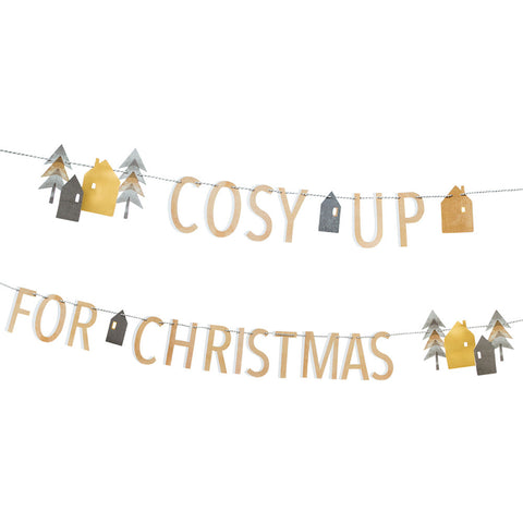 Nordic Cosy Up For Christmas Garland