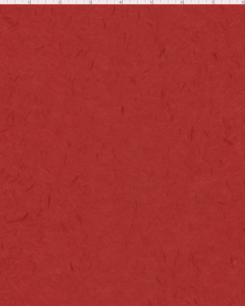 "Obonai Feather Red - Sample 8.5"" x 11"""