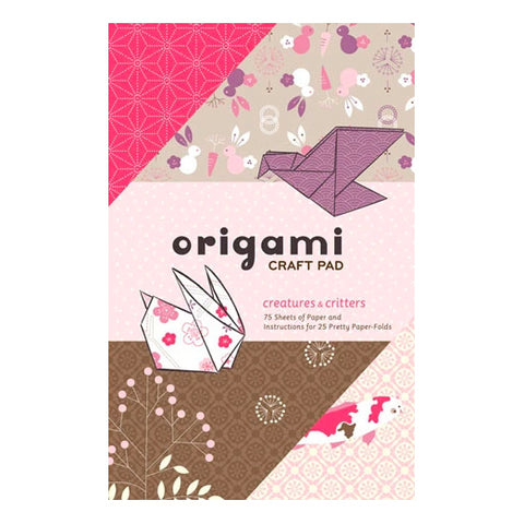 Origami Craft Pad: Creatures & Critters