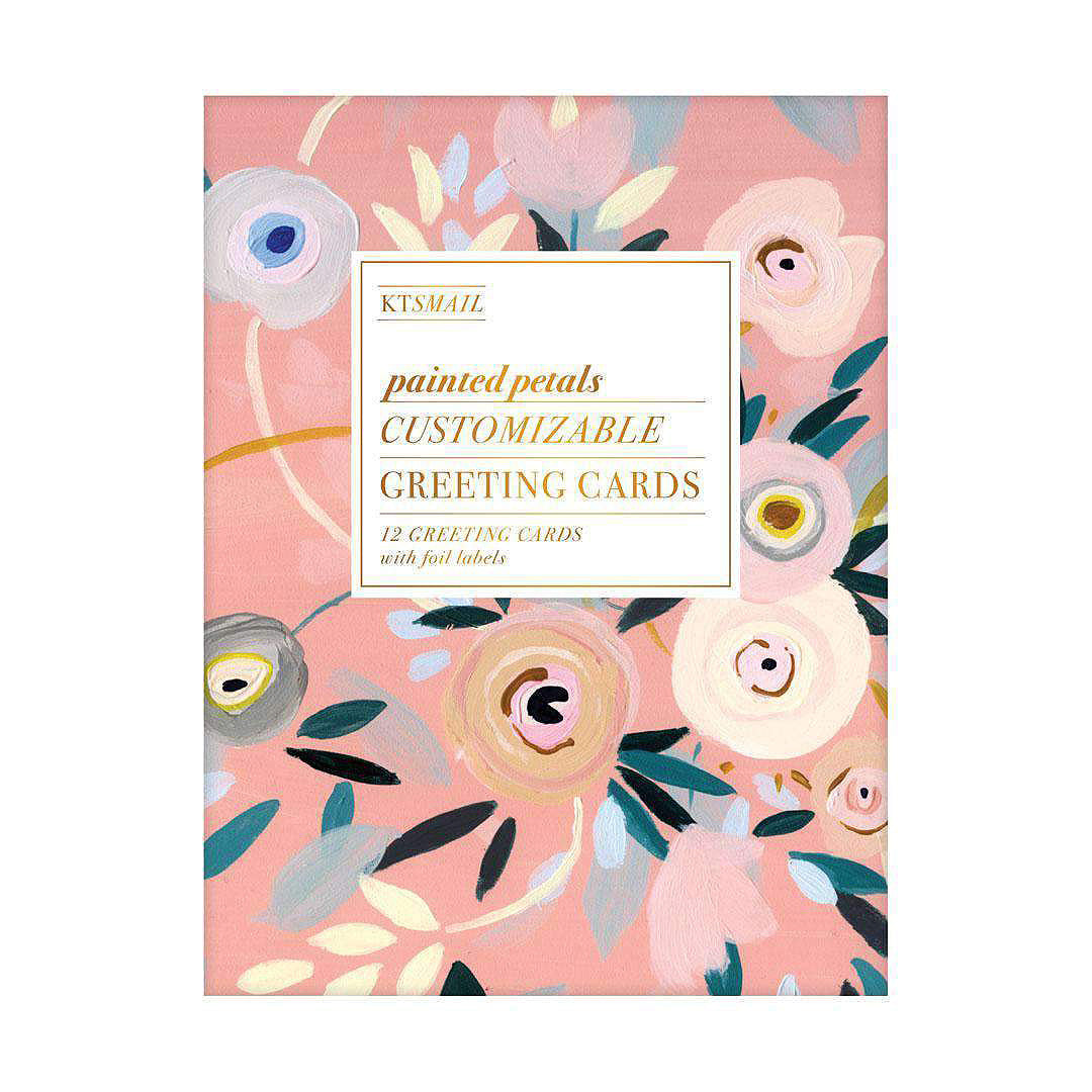 Painted Petals DIY Boxed Cards