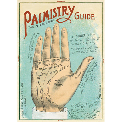 Palmistry Poster Wrap