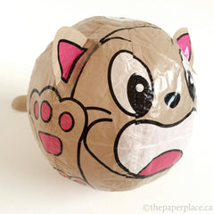 Brown Cat Paper Balloon