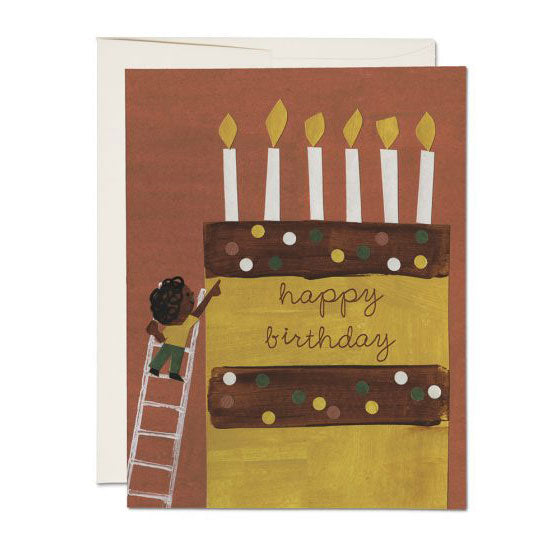 Cake Ladder Single Card
