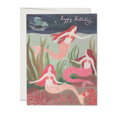 Mermaids Single Card