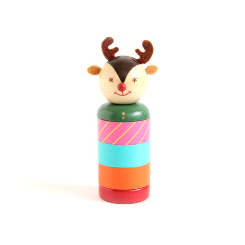 Reindeer Washi Stocker with 3 Tapes