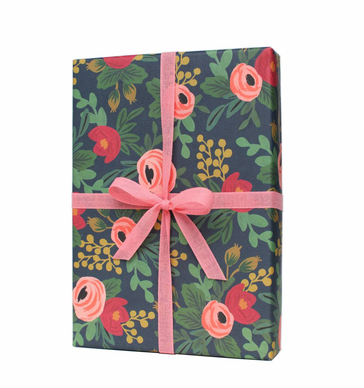Rifle Paper Co. Rosa Wrapping Sheets, Roll of 3