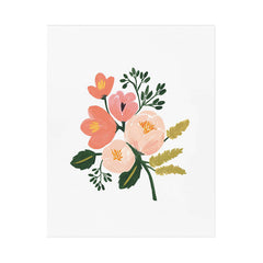"Rose Botanical 8x10"" Print"