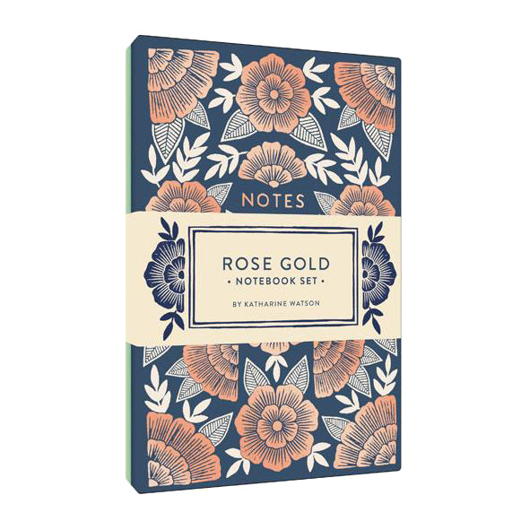 Rose Gold Notebook Set/2