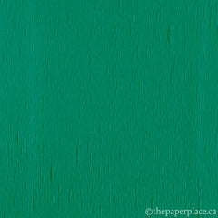 Single-Sided Crepe - Holiday Green