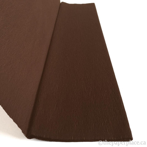 Single-Sided Crepe - Brown