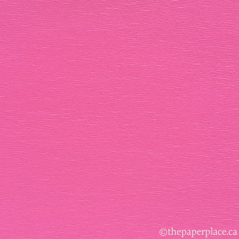 Single-Sided Crepe - Hot Pink