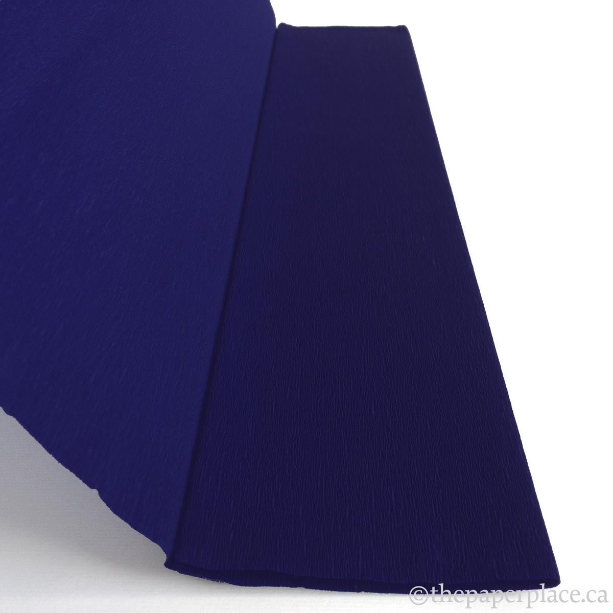 Single-Sided Crepe - Midnight Blue