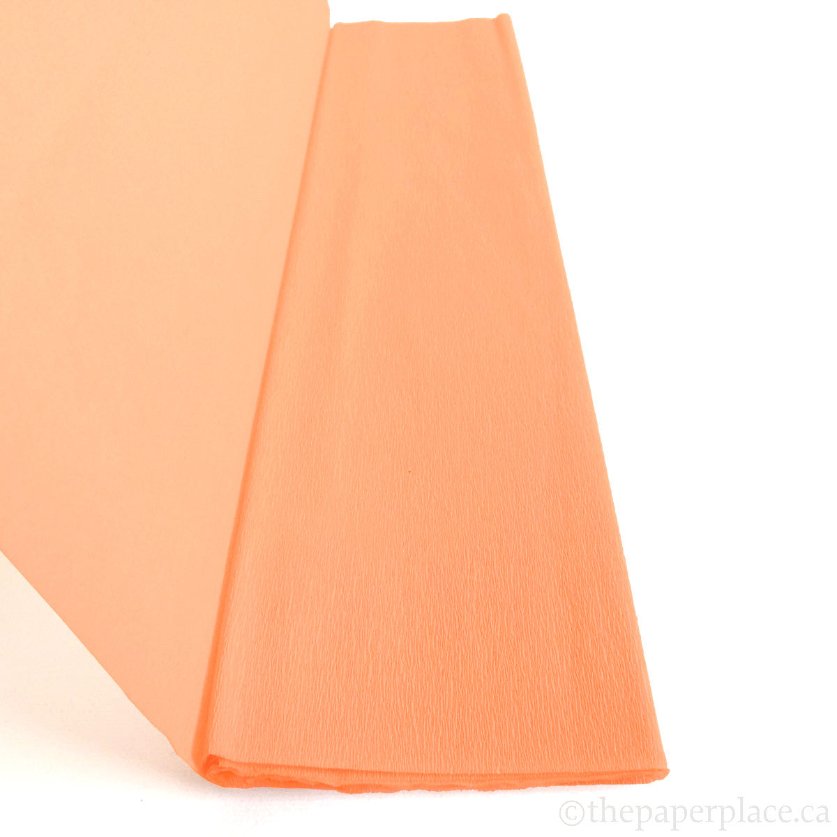 Single-Sided Crepe - Peach