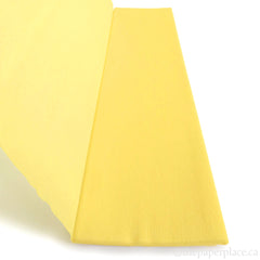 Single-Sided Crepe - Primrose Yellow