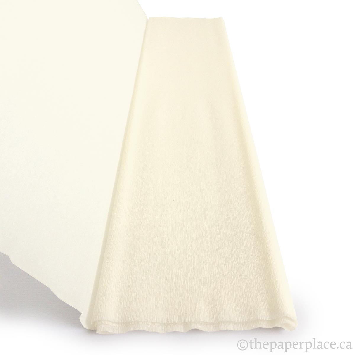 Single-Sided Crepe - White