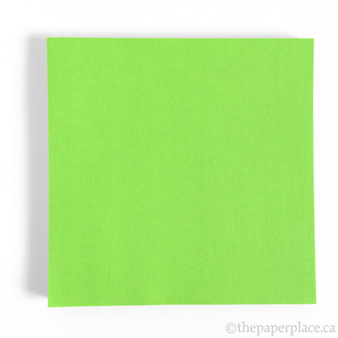 15cm Single Colour Apple Green - 100 Sheets