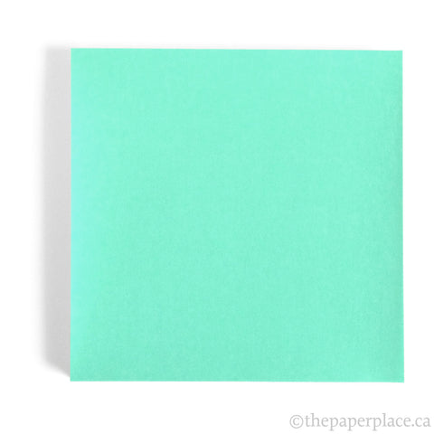 15cm Single Colour Aqua - 100 Sheets