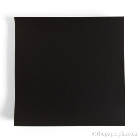 15cm Single Colour Black - 100 Sheets