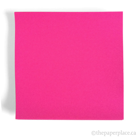 15cm Single Colour Magenta - 100 Sheets