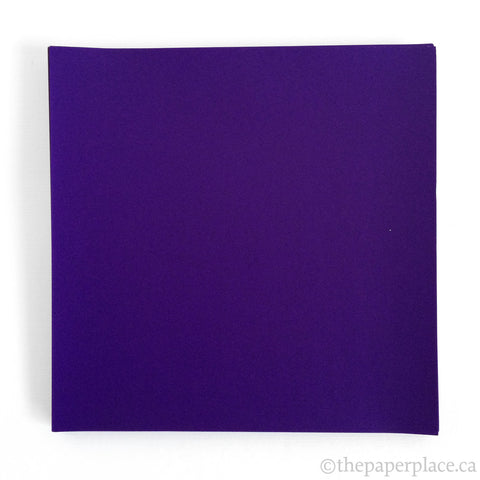 15cm Single Colour Purple - 100 Sheets
