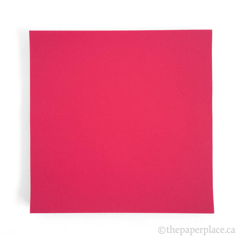 15cm Single Colour Raspberry - 100 Sheets
