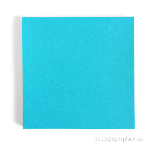 15cm Single Colour Turquoise - 100 Sheets