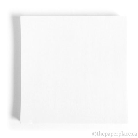 15cm Single Colour White - 100 Sheets