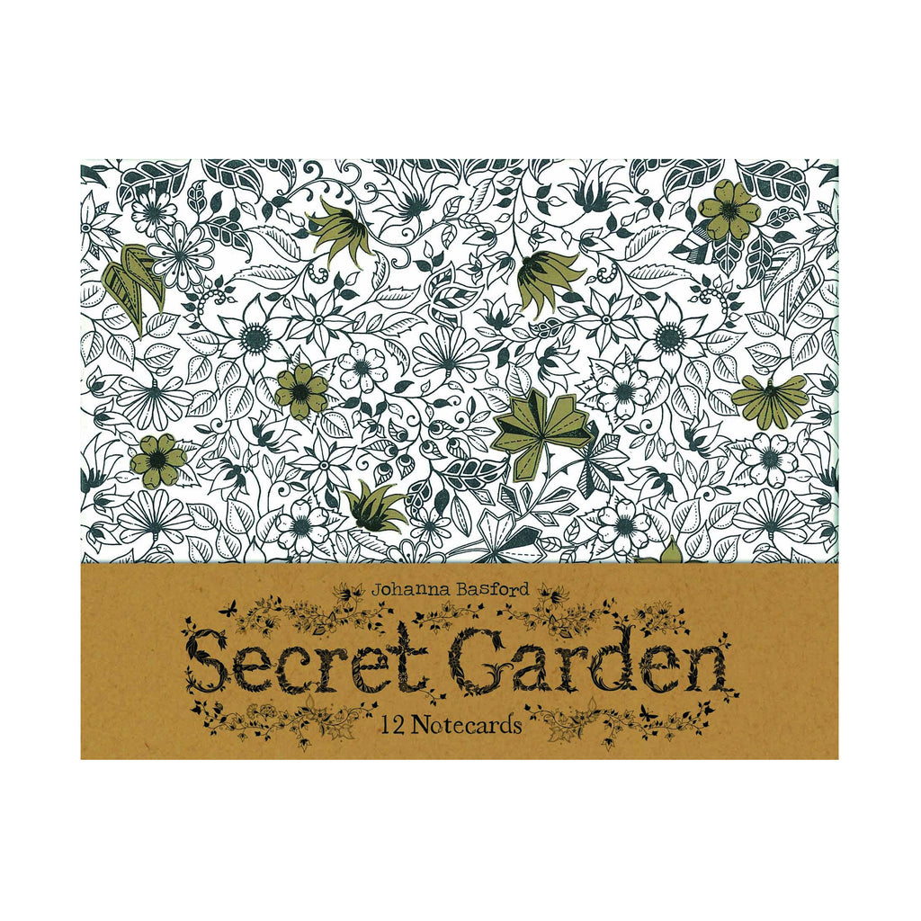 Secret Garden Boxed Cards