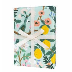 Shanghai Garden Wrapping Sheets, Roll Of 3