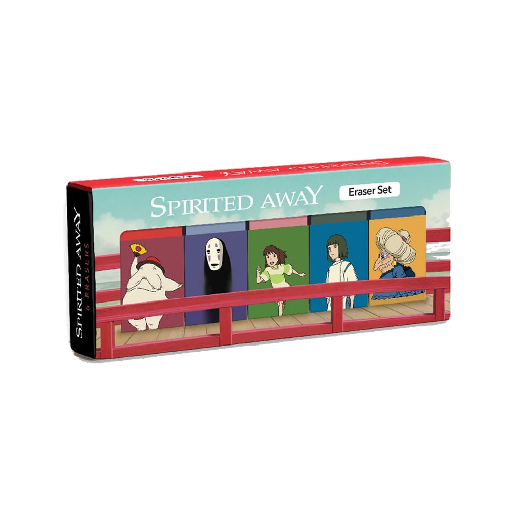 Spirited Away Eraser Set