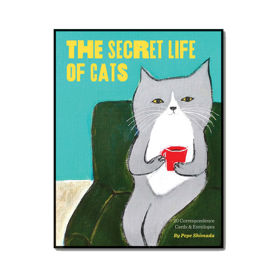 The Secret Life of Cats - Boxed Cards