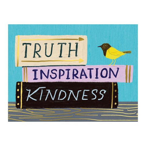 Truth, Inspiration, Kindness Boxed Cards