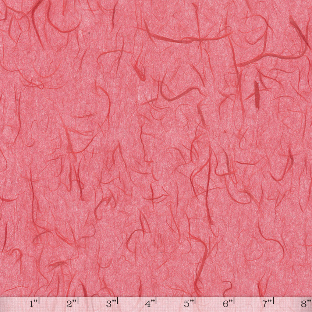 Unryu Tissue Raspberry - Full Sheet