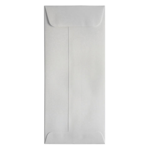 #10 Business Envelope Shimmer Silver