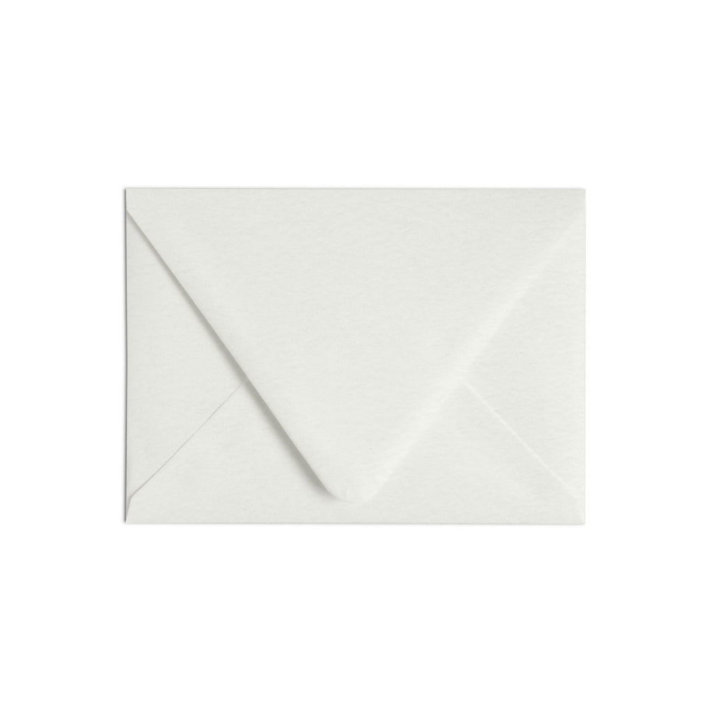 A6 Envelope Luxe White