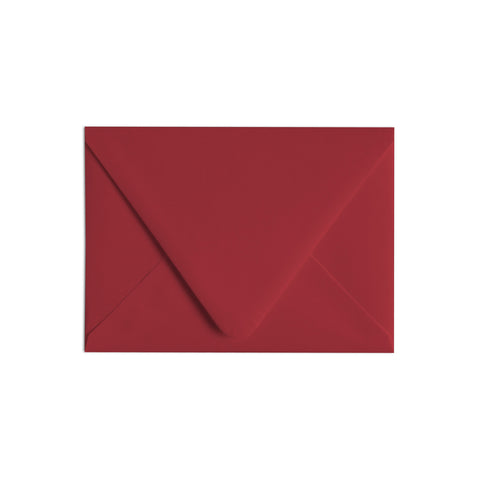 A6 Envelope Red