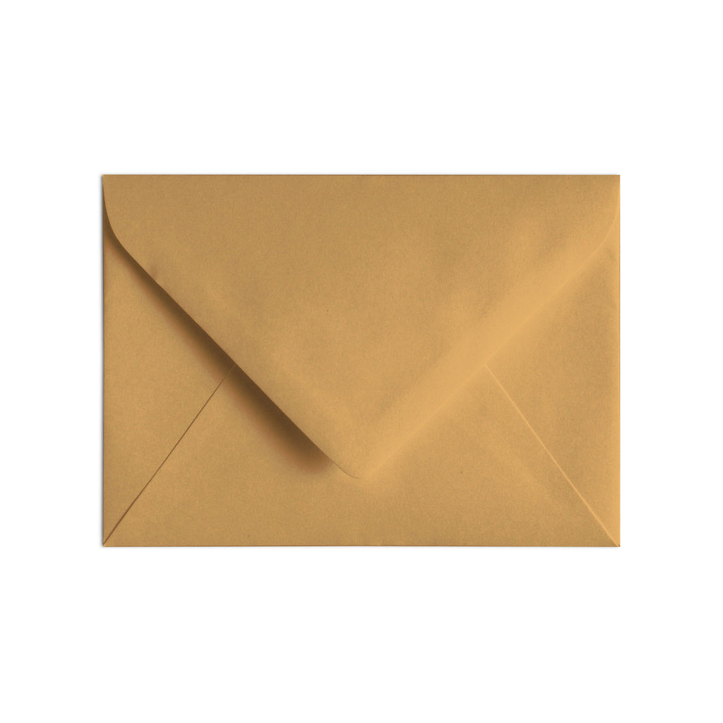 A7 Envelope Antique Gold
