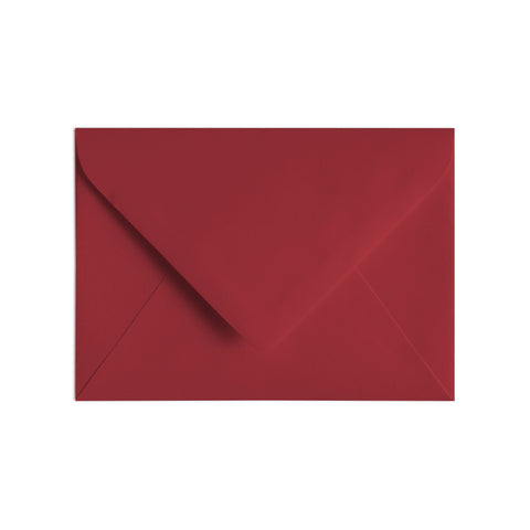 A7 Envelope Red