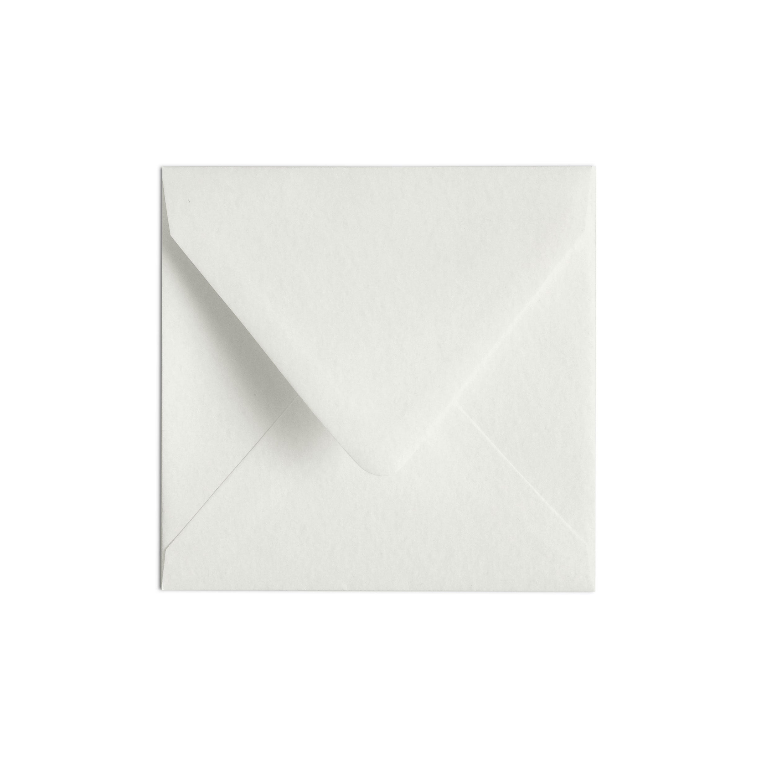 Square Envelope Luxe White