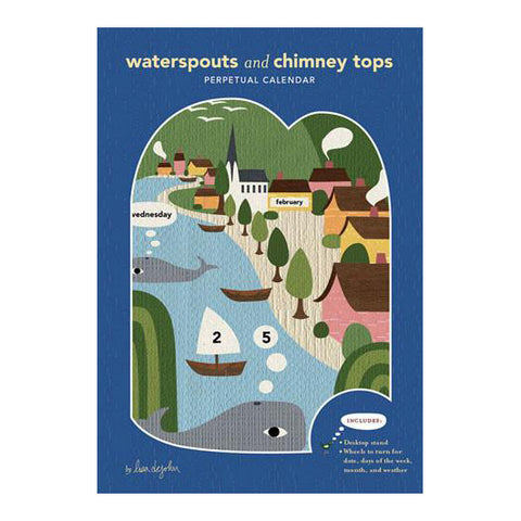 Waterspouts and Chimney Tops Perpetual Calendar