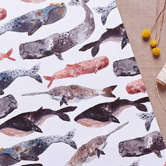Double Sided Wrap - Anchors/Whales