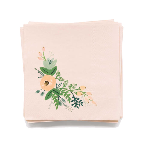 Rifle Wildflower Cocktail Napkins, Set of 20