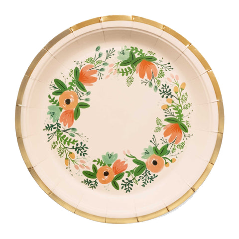 Rifle Wildflower Large Plates, Set of 10