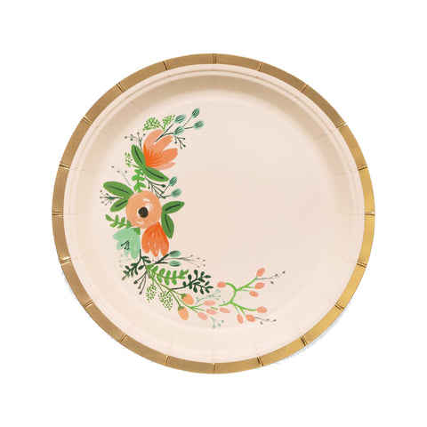 Rifle Wildflower Small Plates, Set of 10