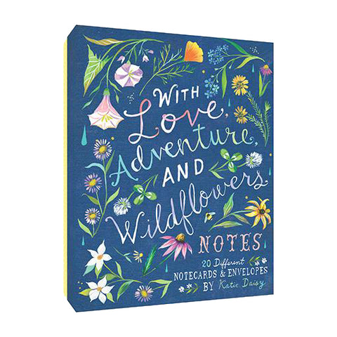 With Love, Adventure, and Wildflowers Boxed Cards