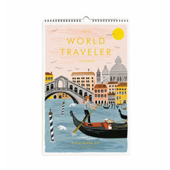 2019 World Traveler Wall Calendar
