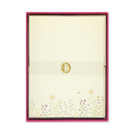 Sparkly Garden Letter-Perfect Stationery